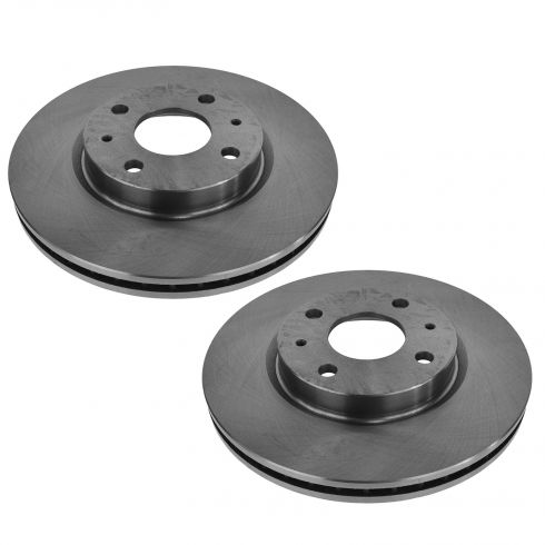 08-11 Ford Focus Front Disc Brake Rotor Pair