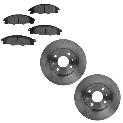 08-11 Ford Focus Front Disc Brake Rotor & Ceramic Pad set