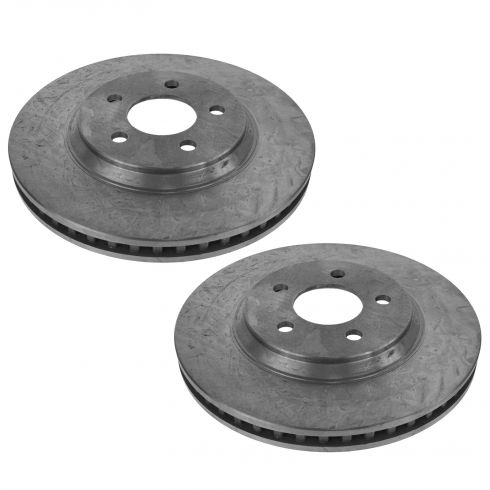 05-10 Ford Mustang w/4.6L; 11-14 Mustang w/3.7L Front Disc Brake Rotor Pair
