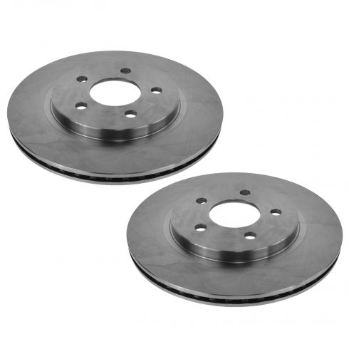 05-12 Ford Mustang; 13-14 Mustang (w/11.8 Inch Dia) Rear Disc Brake Rotor Pair