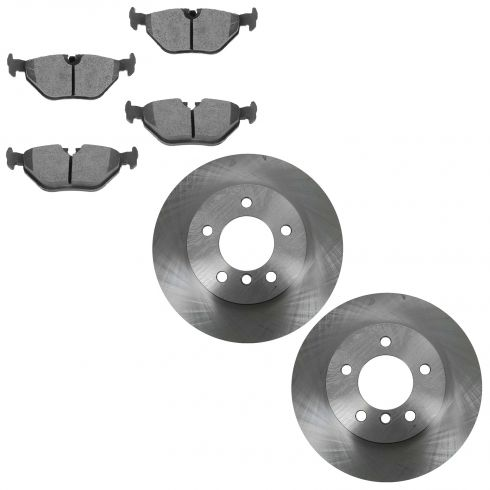 98-05 BMW 3-Series Rear Ceramic Pad & Rotor Set