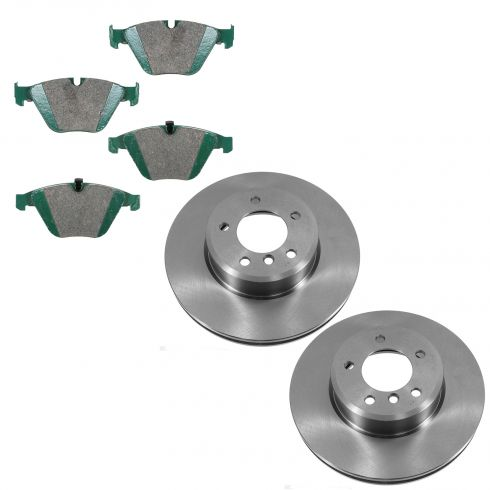 04-10 BMW 5-Series Front Ceramic Pad & Rotor Set