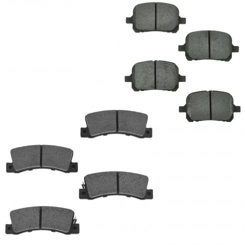 97-99 ES300; 99-01 RX300; 97-99 Camry Front & Rear Ceramic Brake Pad Set