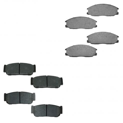 03-09 Kia Sorento Front & Rear Ceramic Brake Pad Set