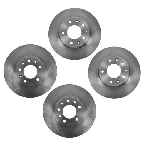 06-12 Fusion; 07-12 MKZ; 06-13 Mazda6; 06-10 Millan Front & Rear Brake Rotor Set of 4