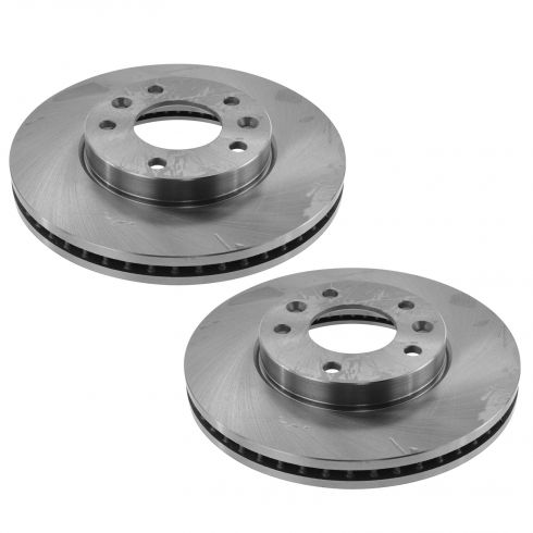 04-05 from 12-01-13 Kia Sedona Front Brake Rotor Pair