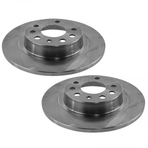 03-11 Saab 9-3 Rear Brake Rotor Pair