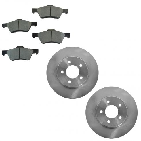 05-10 Escape; 05-11 Tribute; 05-11 Mariner Front Posi Metallic Pad & Rotor Set