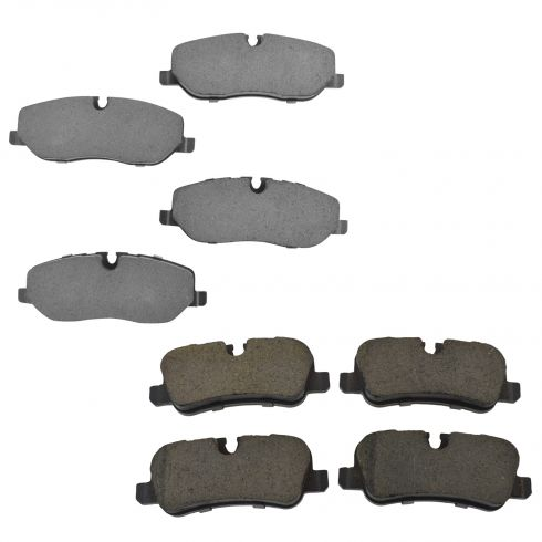 05-09 LR3; 06-09 Range Rover, Sport Front & Rear Posi Ceramic Brake Pad Set