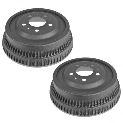 84-89 Chrokee; 86-89 Comanche w/Spicer 35; 84-89 Wagoneer; 87-89 Wrangler Rear Brake Drum Pair