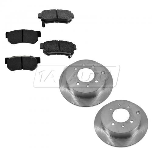 99-05 Sonata; 01-06 Optima Rear Disc Brake Rotor & Premium Posi Ceramic Pads