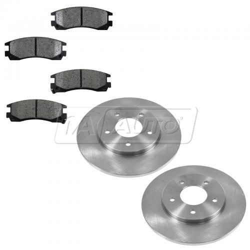 94-96 Regal; 95-99 Lumina; 94-97 Cutlass; 94-96 Grand Prix Rear Metallic Pad & Rotor Set