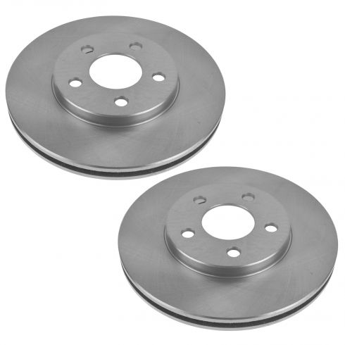 2000-05 Dodge Plymouth Neon Brake Rotor Front Pair