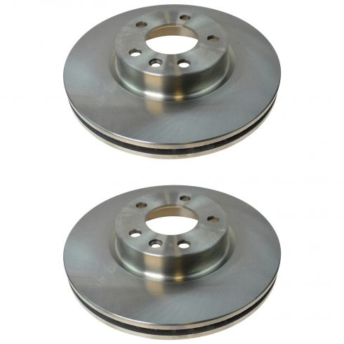 97-01 Cadillac Caterra Front Disc Brake Rotor Pair