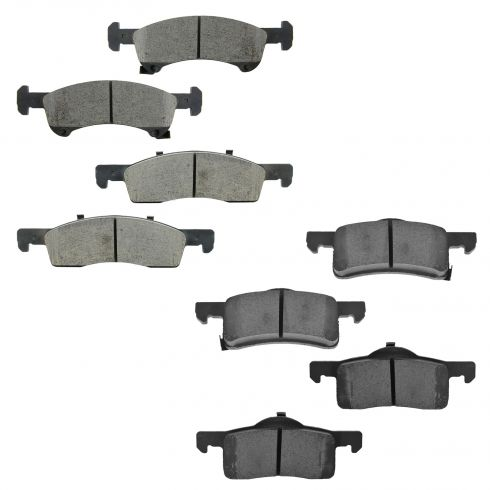 03-06 Expedition, Navigator Front & Rear Ceramic Brake Pad Kit