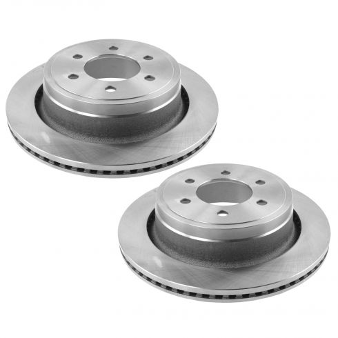 12-15 Ford F150 Rear Disc Brake Rotor Pair