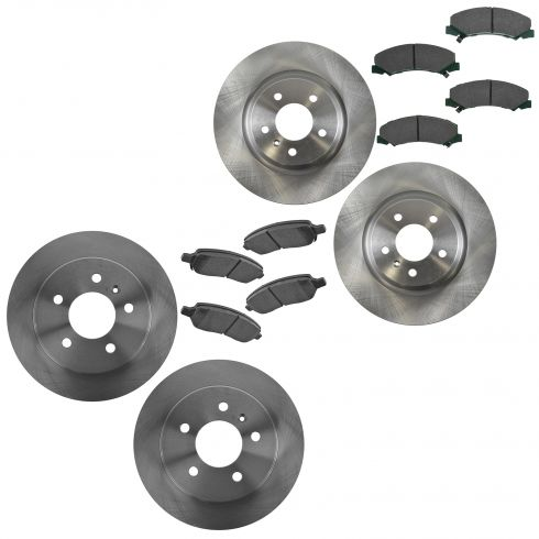 06-11Lucerne, DTS w/ JL9 Front & Rear Brake Rotor & Posi Ceramic Pad Kit