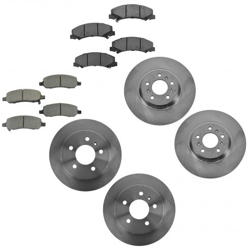 06-11Lucerne, DTS w/ JL9 Front & Rear Brake Rotor & Semi Metallic Pad Kit