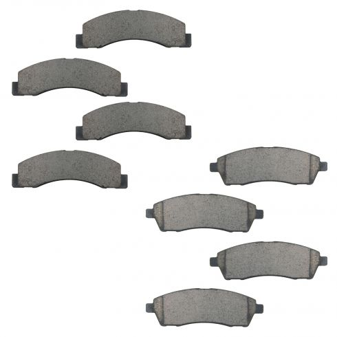 00-05 F250SD, F350SD, Front & Rear Ceramic Disc Brake Pads