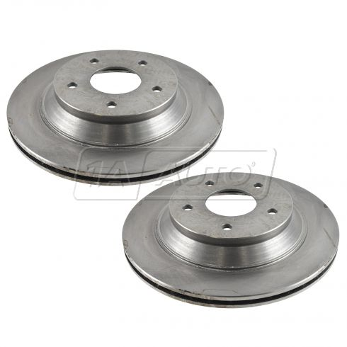 1988-95 Chevy Corvette Brake Rotor Front Pair (Except HD 13)