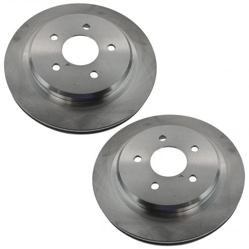 04-05 XLR; 97-04 Corvette Rear Driver Side Brake Rotor Pair