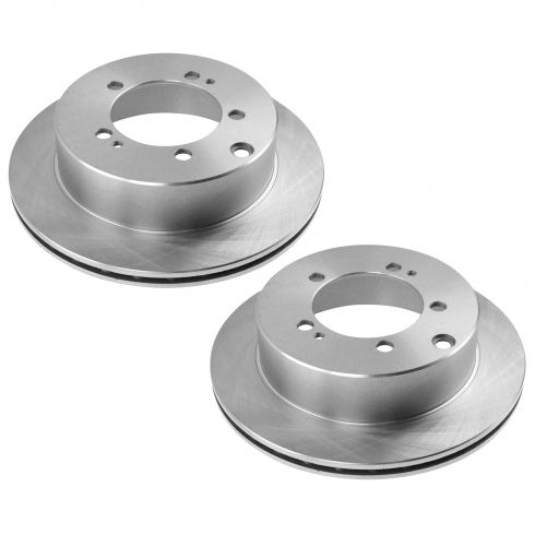 91-96 Stealth, 3000GT; 92-96 Diamante Rear Brake Rotor Pair