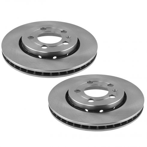 00-05 Jetta, Golf; 00-06 TT Q Rear Brake Rotor Pair