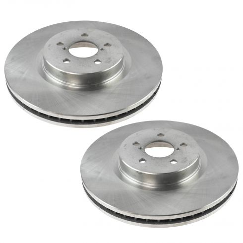 14-15 Forester; 05-14 Legacy; 10-14 Outback Front Brake Rotor Pair