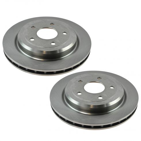 06-09 XLR; 05-13 Corvette Rear Brake Rotor Pair