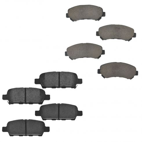 09-13 Nissan Maxima Front & Rear Ceramic Brake Pad Set