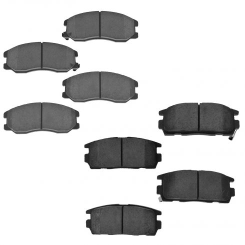 07-10 Vue, Torrent,  XL-7 front & Rear Ceramic Brake Pad Set