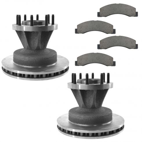 Ford F350 Super Duty Truck Brake Pads & Rotors Replacement | Ford F350 Super Duty Truck Brake ...