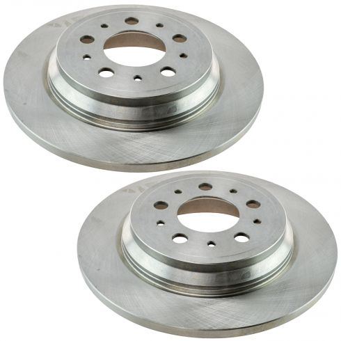 99 (frm VIN 596486)-00 Volvo 70 Srs SDN AWD; 99 (frm VIN 587044)-00 &0 Srs SW AWD Rear Rotor Pair
