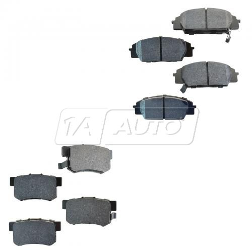 CSX RSX Type S Civic SI S2000 Front & Rear brake pad HPS (Hawk)