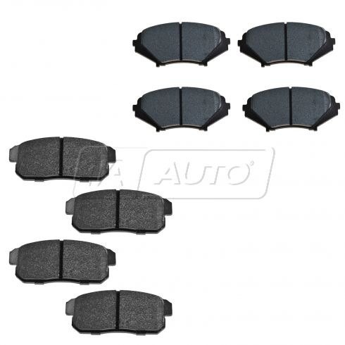 08-10 Mazda RX-8 Performance Brake Pad Set Front & Rear HPS (Hawk)