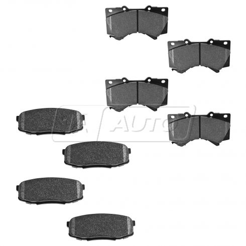 08-14 Toyota 4x4 Performance Brake Pad Front & Rear PC (Hawk)