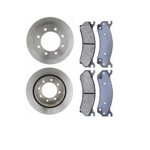 Brake Rotor & Brake Pad Set