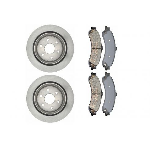 Brake Rotor & Brake Pad Set Ceramic