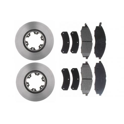 Brake Pad & Rotor Kit SEMI-METALLIC