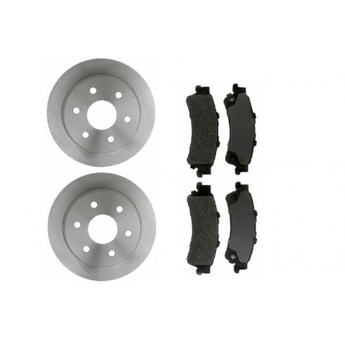Brake Rotor &  Brake Pad Set SEMI-METALLIC