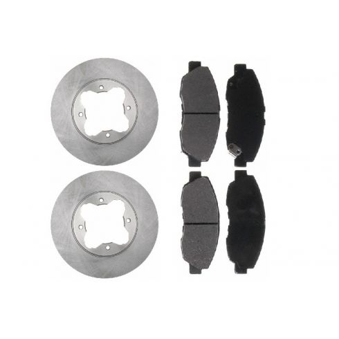 Brake Pad & Rotor Kit CERAMIC