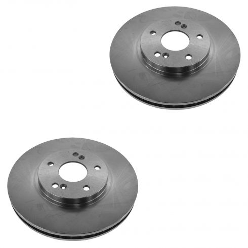 99-14 Accord Odyssey Pilot Brake Rotor Front PAIR (Raybestos Professional Grade)