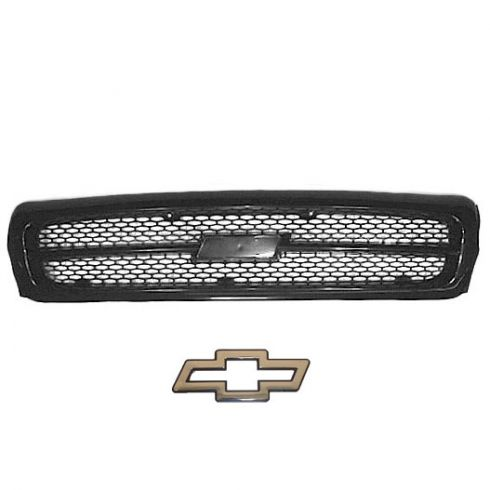 Black Grille (Grill) with EMBLEM SET