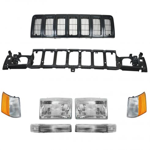 Grille, Header Panel & Light Set