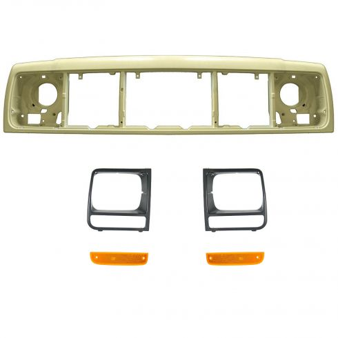 Header Panel, Parking Light, & Headlight Bezel Kit