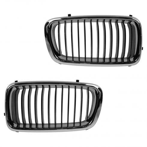 99-01 BMW 740i Upper Grille Pair (LH and RH)