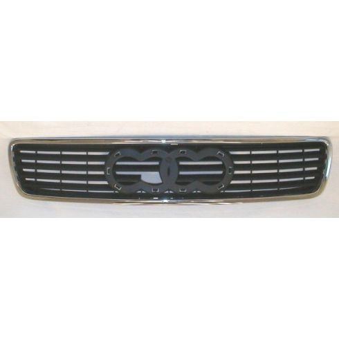 1996-99 Audi A4 Chrome and Black Grill