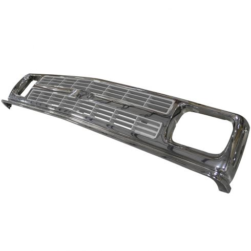 91-94 S10 Chrome & Gray Grille