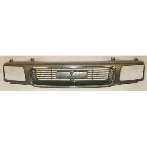 94-97 S15 Chm Grille w/comp HL