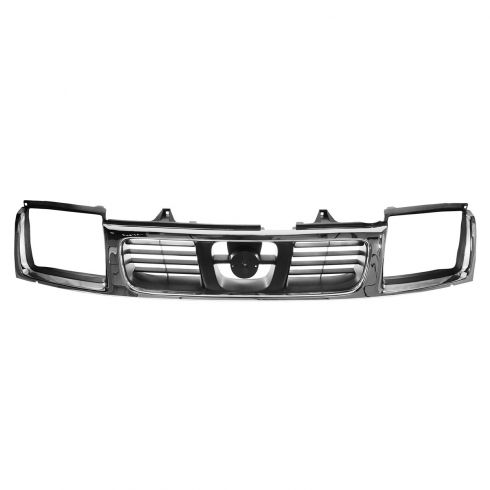 98-00 Nissan Frontier Grille Chr